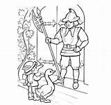 Nose Coloring Pages Dwarf Cartoon Warriors Nos Coloringtop sketch template