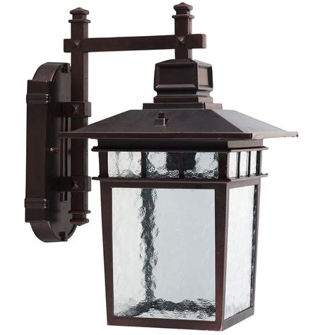outdoor ls home depot y decor cullen 1 light oil rubbed bronze outdoor wall