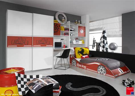 Kinderzimmer Junge Autobett by Rauch Racing Kinderzimmer Jugendzimmer Autobett Schrank