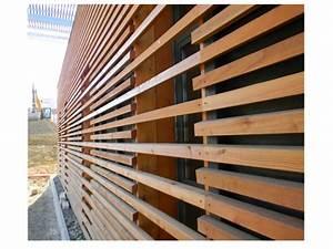 Bardage Bois Claire Voie : bardage claire voie vertical relier nature accueil ~ Dailycaller-alerts.com Idées de Décoration