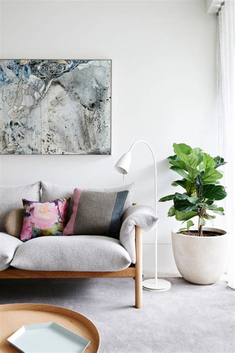 house tour a light contemporary apartment in melbourne