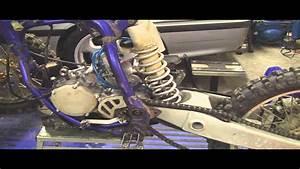 Yz125 Tear Down Part 1  Removing 2 Stroke Motor  Engine