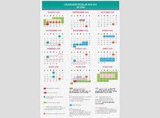 SEP da a Conocer Calendario Escolar del Ciclo 20182019