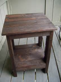 how to make end tables out of pallets Quick Woodworking
