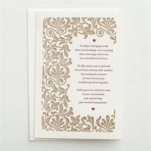 50th anniversary few things more inspiring 1 premium With 50th wedding anniversary cards