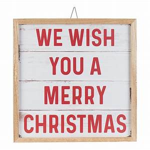 holiday, time, we, wish, you, a, merry, christmas, hanging, sign, decoration, , 18, u0026quot, , x, 18, u0026quot
