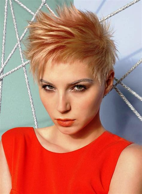 spiky hairstyles  women elle hairstyles