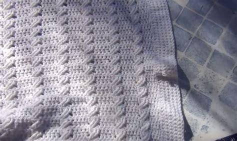 copertina per uncinetto copertina neonato uncinetto cotone schema rj71