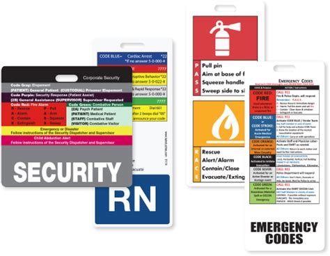 custom emergency code response tags ka industries