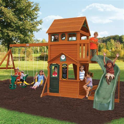 Big Backyard Playset by Big Backyard Ashberry Ii Swing Set Swing Sets At Hayneedle