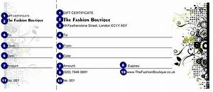fashion show gift certificate ticket printing With fashion show ticket template