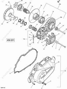 Can-am Atv 2018 Oem Parts Diagram For Transmission