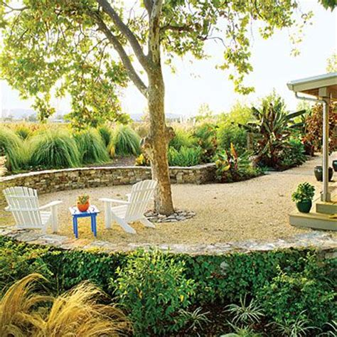 lawn replacement ideas 22 inspiring lawn free yards gardens backyards and gravel patio