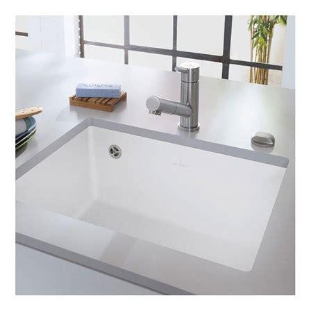 white porcelain kitchen sinks undermount villeroy boch subway 60 su white ceramic single bowl 1860