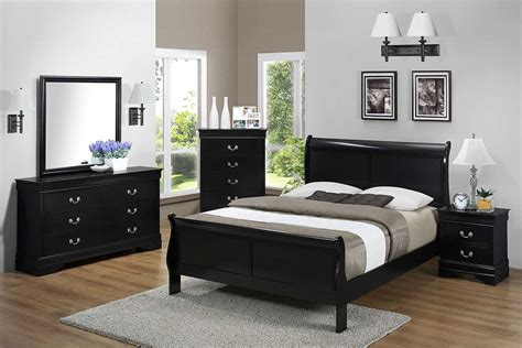 black bedroom set  furniture shack discount
