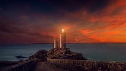 Lighthouse 4k Sunset Wallpapers 1080 1920 2560