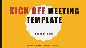 project kickoff meeting template download free project With project kickoff meeting presentation template