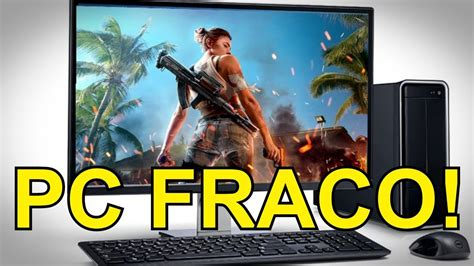 The game is specially designed for powerful and advanced devices, with maximum graphics, new special effects, sounds and ultra hd resolution. COMO JOGAR FREE FIRE NO PC !!! (PC FRACO) - YouTube