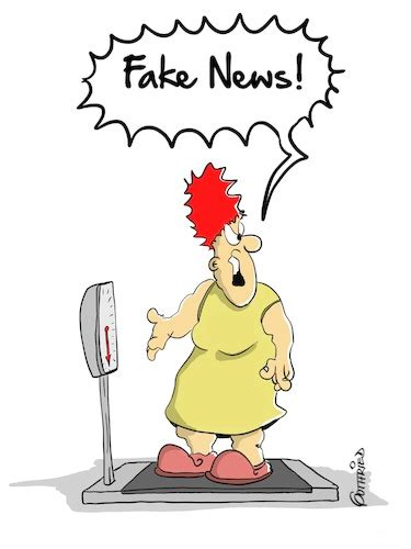 fake news von marcus gottfried medien kultur cartoon