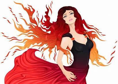 Hair Bright Clip Illustrations Vector Fire Element