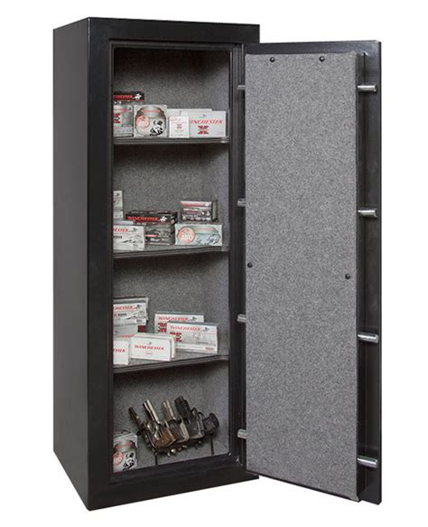 Stack On 14 Gun Steel Security Cabinet by Winchester Ammo Safe Fire Rated For Ammunition Storage
