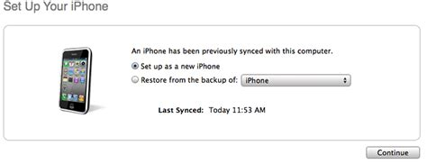 how to set up iphone as new hỏi đ 193 p restore from the backup of iphone th 236 ip backup