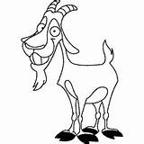 Goat Billy Cheerful Coloring Surfnetkids Pages sketch template
