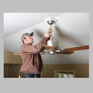 how to fix a shaky ceiling fan