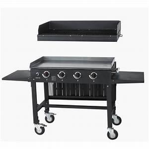 Grille De Barbecue Grande Taille : plancha grill 2 fonctions acier 90 cm primagaz top plancha ~ Melissatoandfro.com Idées de Décoration