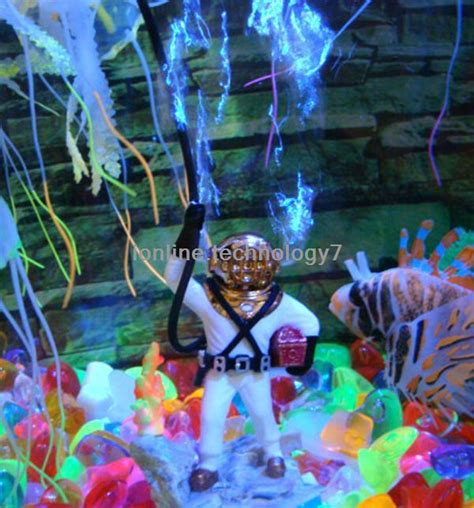 Fish Tank Bubbler Decoration by Fish Tank Decorations 0 50 Bubbling Diver Aquarium