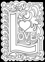 Coloring Pages True Adult Printable Valentine Adults Valentines Colouring Detailed Colour Printablee Yourself Theme Via Pretty Fun sketch template