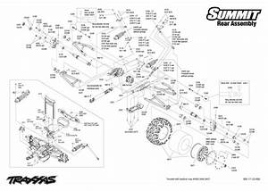 Traxxas Revo 33 Parts Diagram