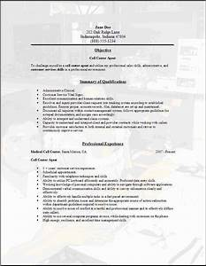 call center resume download template picture to pin on With call center resume template