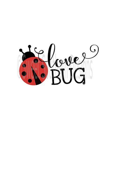love bug ladybug svg dxf  instant  design  valentines art valentines svg