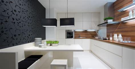 cuisine contemporaine blanche et bois cuisine bois et blanche photo 9 25 une banquette tr 232 s