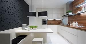 Cuisine Ikea Blanche Et Bois : cuisine bois et blanche photo 9 25 une banquette tr s ~ Dailycaller-alerts.com Idées de Décoration