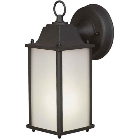 filament design burton 1 light black outdoor wall light