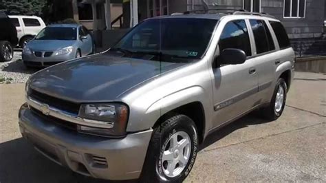 2003 Chevrolet Trailblazer Ls 4x4 Elite Auto Outlet