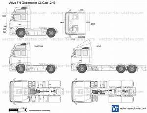 Templates - Trucks - Volvo