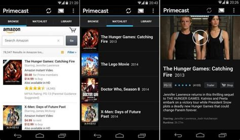prime app android instant on your chromecast via