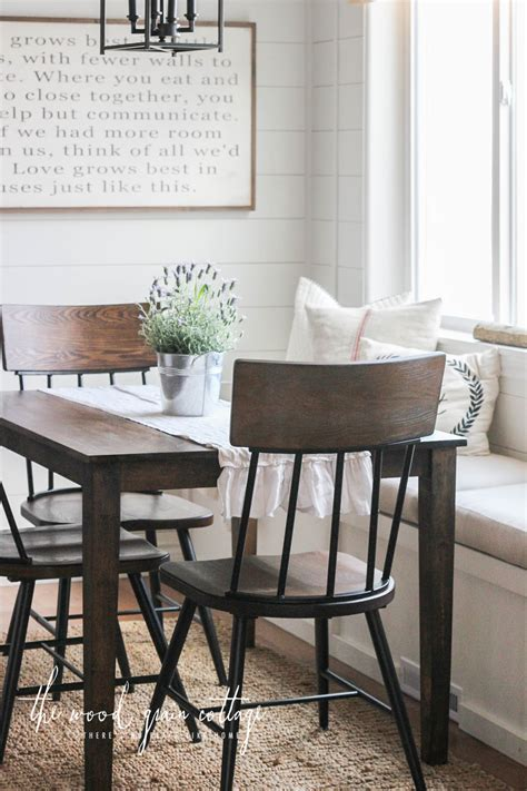 Breakfast Nook With Chairs Home Design