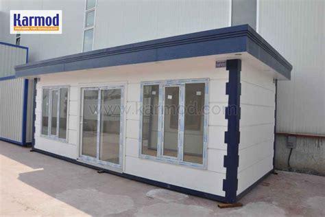 bungalow bureau structure préfabriquée maison préfabriquée conteneur
