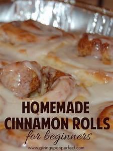 Well, I did it. Per my husband's request to make cinnamon ...