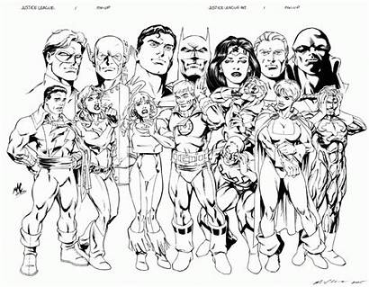 Justice League Coloring Pages Daredevil Jla Unlimited