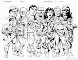 Coloring Justice League Daredevil Jla Printable Dps Colorine Version Comic Getdrawings Pdf Getcolorings Coloringhome sketch template