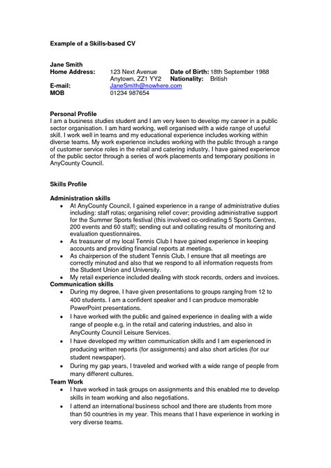 creative resume profile exles 20275 profile exles for resumes create a resume profile