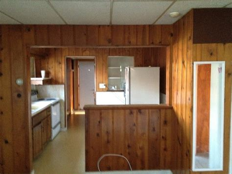 kitchen paneling ideas ideas for wall base with wood paneling on top painting