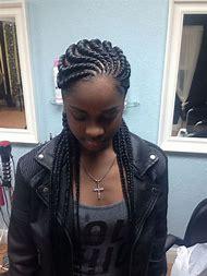 Ghana Cornrows Hairstyle Braids for Black Women