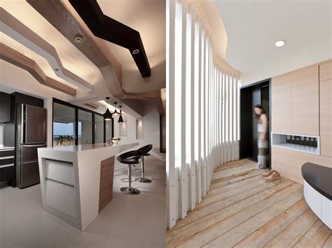 sleek interiors  wood takes center stage
