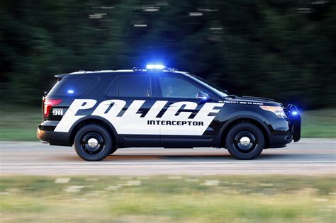 Ford Explorer Police Interceptor Utility Unveiled The